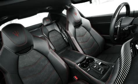 maserati grancabrio interior car and driver