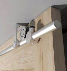 ceiling mounted barn door same opening type as ours wall With barn door hardware from ceiling