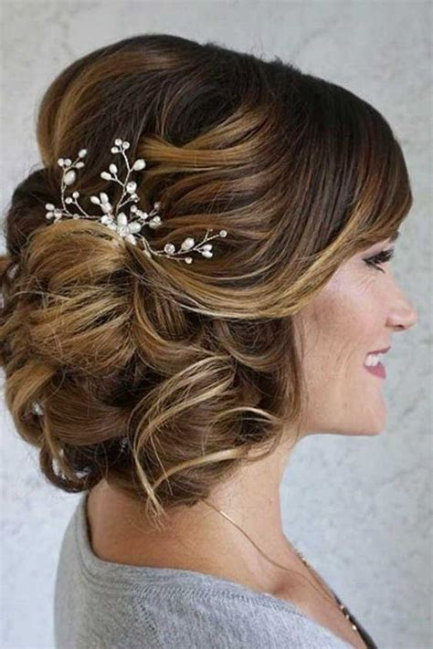 elegant mother   bride hairstyles southern living