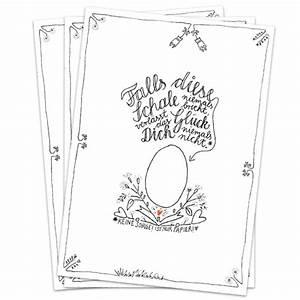Weiß Zu Schwarz : originelle und witzige osterkarte in kalligrafie design ~ Eleganceandgraceweddings.com Haus und Dekorationen