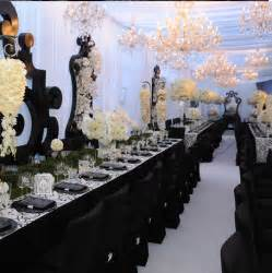 banquet chair covers cheap black white wedding decor ideas jamaica weddings