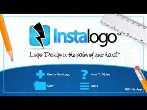 create your own logos with app instalogo logo creator youtube