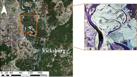Us national oceanic and atmospheric administration (noaa). (Left) Mississippi river and the levee system (source ...