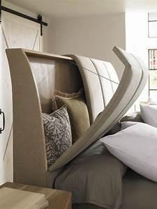 Lit Tv Intégré : 26 t tes de lit avec rangement int gr pour votre chambre des id es ~ Teatrodelosmanantiales.com Idées de Décoration