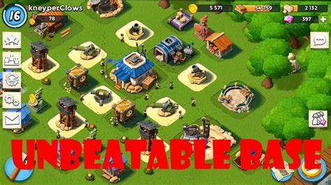 foto de Boom Beach best HQ 7 base YouTube