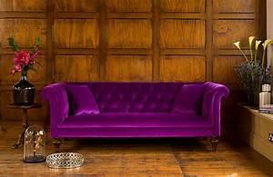 Canapé Chesterfield Tissu : canap chesterfield regent en tissu de velours longfield 1880 ~ Teatrodelosmanantiales.com Idées de Décoration