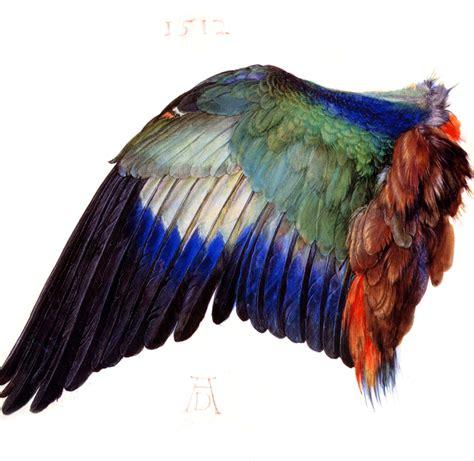 pam holladay artist painting a bird wing