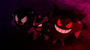 Gastly, Haunter, and Gengar images Gastly, Haunter, and ...