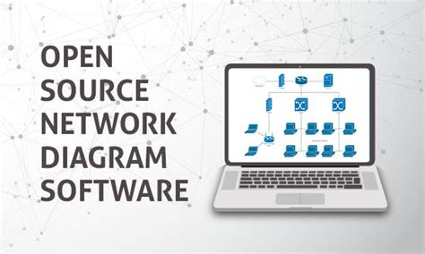 open source network diagram software  windows