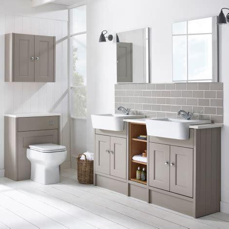 contemporary bathroom ideas burford mocha fitted bathroom furniture roper