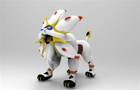 solgaleo pokemon  model cgtrader