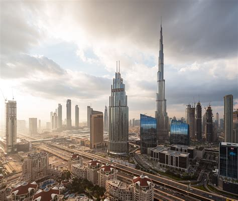 Dubai winter mornings - Dubai, Middle East, United Arab ...