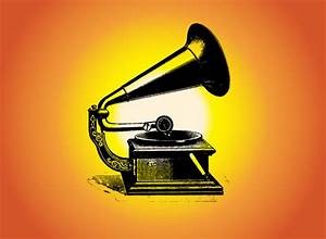 Free Gramophone Vector