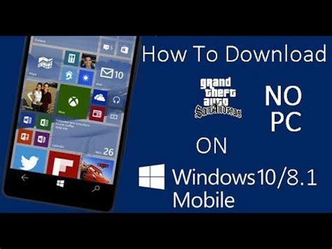 gta san andreas play on lumia 640 xl with windows 10 mobile