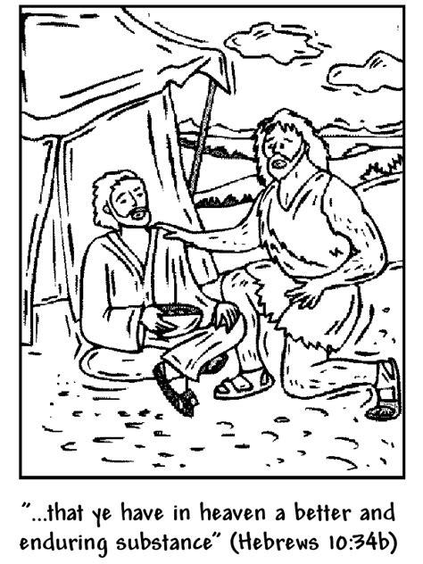 Jacob En Ezau Kleurplaat by Jacob And Esau Coloring Page Www Veupropia Org