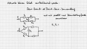 Stern Berechnen : stern dreieck umwandlung grundlagen der elektrotechnik youtube ~ Themetempest.com Abrechnung