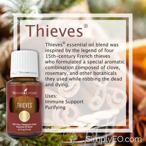 Thieves Essential Oil by Young Living - Simply Essential Oils