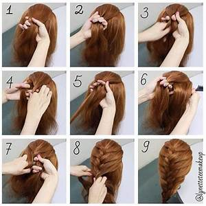 hairstyles for long hair braids steps - Google Search ...