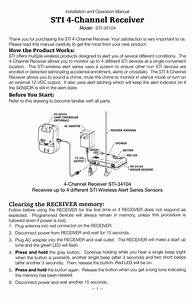 Sti 34104 Install Guide