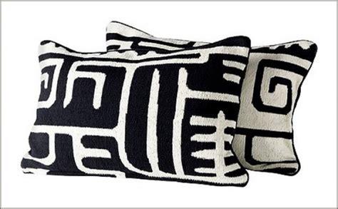 black and white pillows ikea ikea find chic black white pillows improvised life