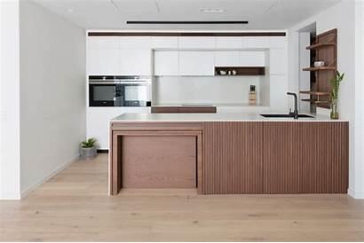 Kitchen Table Dining Apartment Hidden Interior Sydney