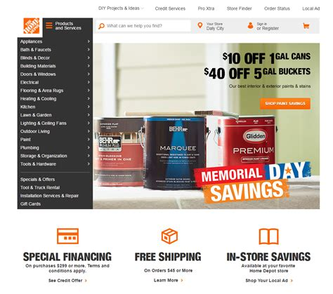 home depot official site home depot official site 28 images adverve the way