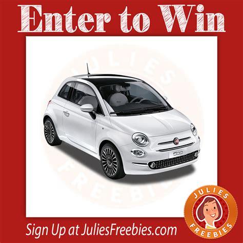 Win A Fiat 500 by Win A Fiat 500 Julie S Freebies