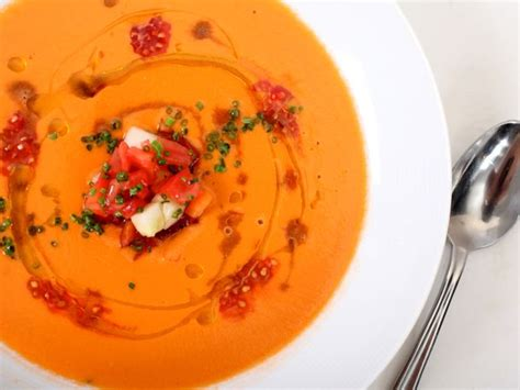 gazpacho andalusian food recipe perfect lab gaspacho science recipes vegetables thermomix chilled soups delicious loaf fruit easy festive guest course