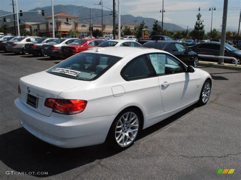 Alpine White 2009 Bmw 3 Series 328i Coupe Exterior Photo
