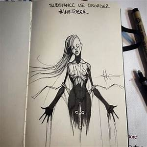 I Illustrated Mental Illness And Disorders For Inktober ...