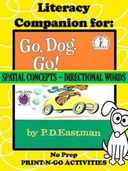 literacy companion for quot go go quot no prep spatial 624 | 47699cc5864563e49ca5afad39dbb031 go dog go activities preschool enrichment activities