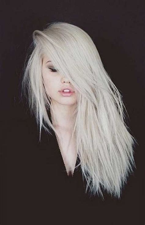 Platinum Color by 20 Hairstyles For Hair Hairstyles Haircuts