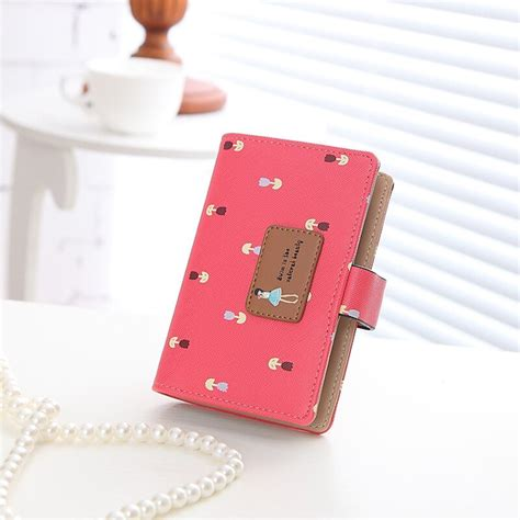 20 Cards Famous Brand Mini Short Small Women Laides