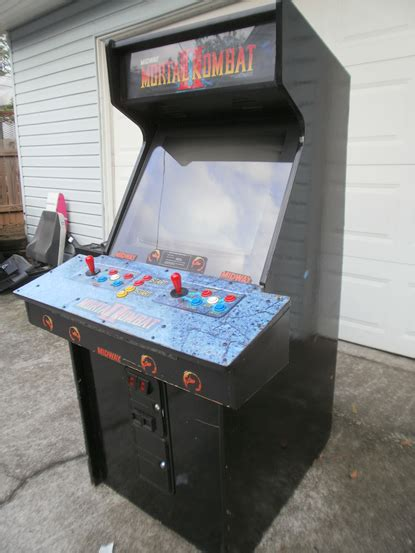 mortal kombat arcade cabinet plans collecting arcades my own nba jam machine for 350