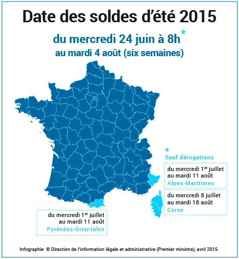 dates des soldes d 233 t 233 2015 et d une grande mobilisation de solidarit 233