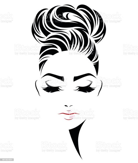 | view 82 messy bun illustration, images and graphics from +50,000 possibilities. 48+ Messy Bun Hairstyle Clipart, Great Ideas!