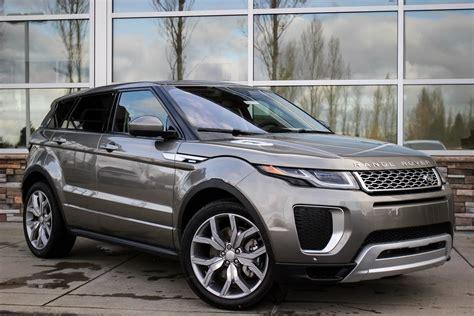 New 2018 Land Rover Range Rover Evoque Autobiography Sport