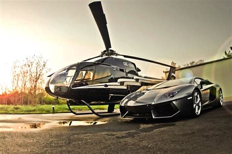 luxurious helicopters  didnt  existed