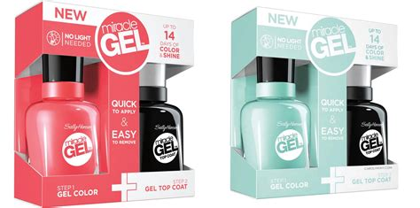 Get The Salon Gel Look With Sally Hansen Miracle Gel