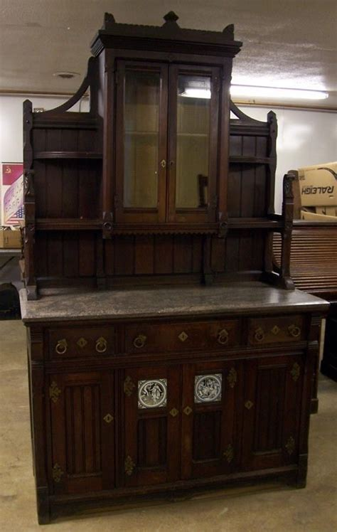 Sideboard Cafe by Walnut Marble Top Buffet Sideboard China Cabinet