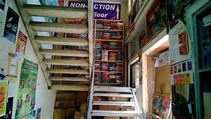 Staircase, Filled, With, Books, Blossom, Book, House, In, Bangalore