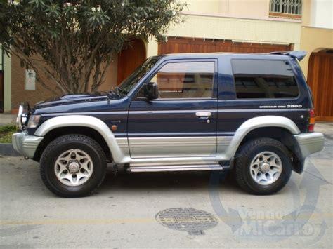 Mitsubishi Montero 1996 by Mitsubishi Montero Pajero 1996 1998