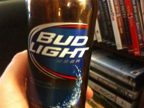what percent is bud light the year in bud light