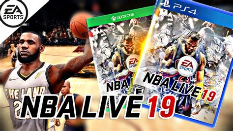NBA LIVE 19 COVER ATHLETE LEBRON JAMES REVEALED BEFORE ...