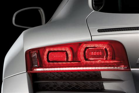 audi  led rear lamp detail car body design