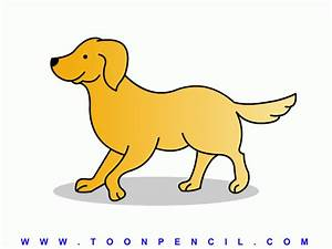 How To Draw A Dog For Kids - Pencil Art Drawing