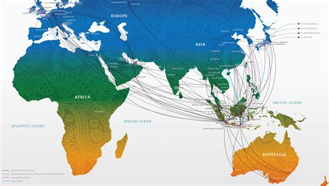 international flight routes garuda indonesia
