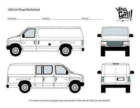 v i s u a l s templates let us communicate van wrap final