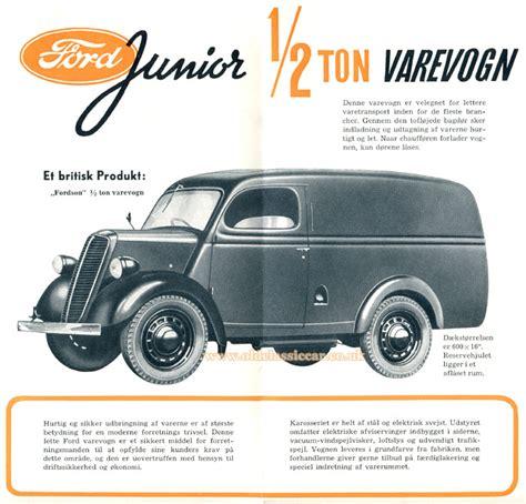 Ford Thames & Fordson 10cwt Vans (e83w Type