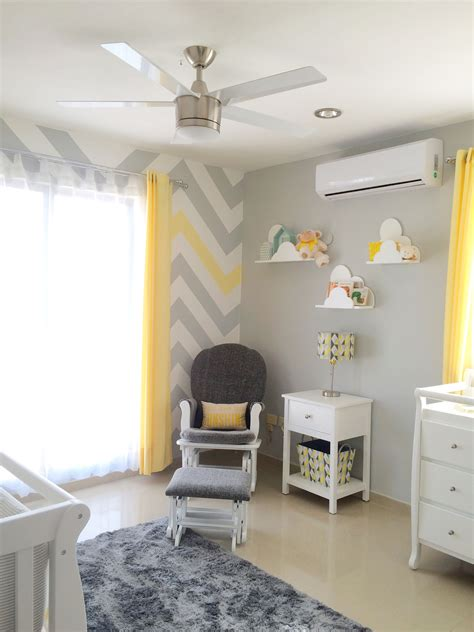 Ideas In Grey by You Are My Baby Nursery Gray And Yellow Chevron